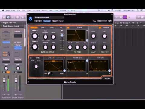 Retro Synth in Logic Pro X | Video Tutorials