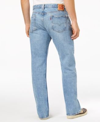 Levi's 569 Loose Straight Fit Jeans - Black 38x30