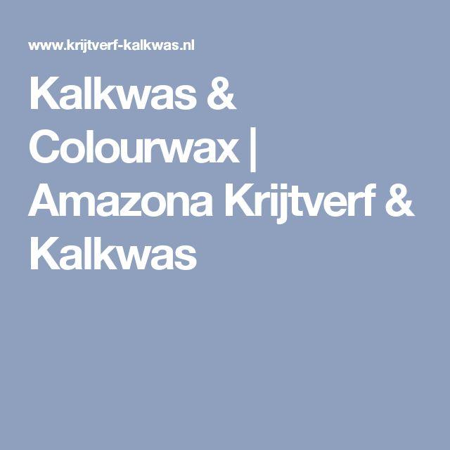 Kalkwas & Colourwax | Amazona Krijtverf & Kalkwas
