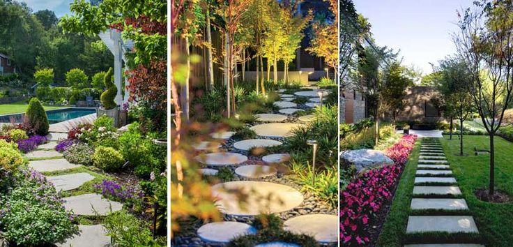 M s de 25 ideas incre bles sobre caminos en el jardin en for Caminos de piedra en el jardin