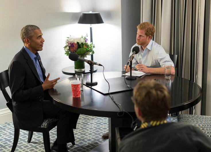 Harry incontra Obama: storia di un'amicizia particolare