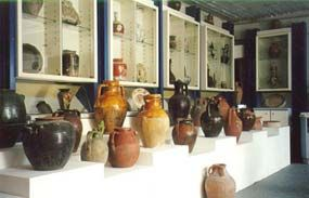 Photo of pottery with Rodios Family