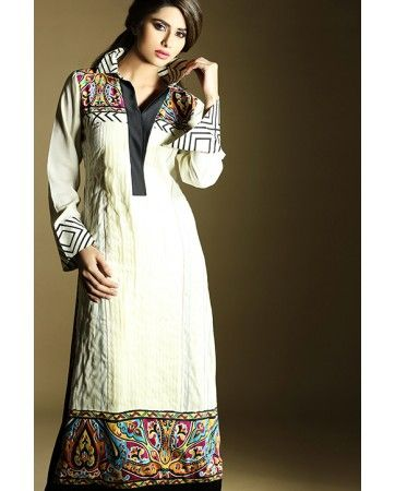 £35. 3 Piece Pakistani Kurti Stitched Dress by Zahra Ahmad. Available in Small, Medium and Large. For orders please visit www.iluvdesigner.com