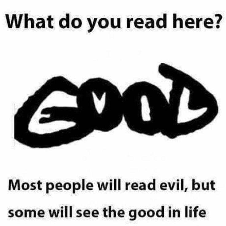 First I saw good now I see evil! #morning #haveagreatday #goodvsevil