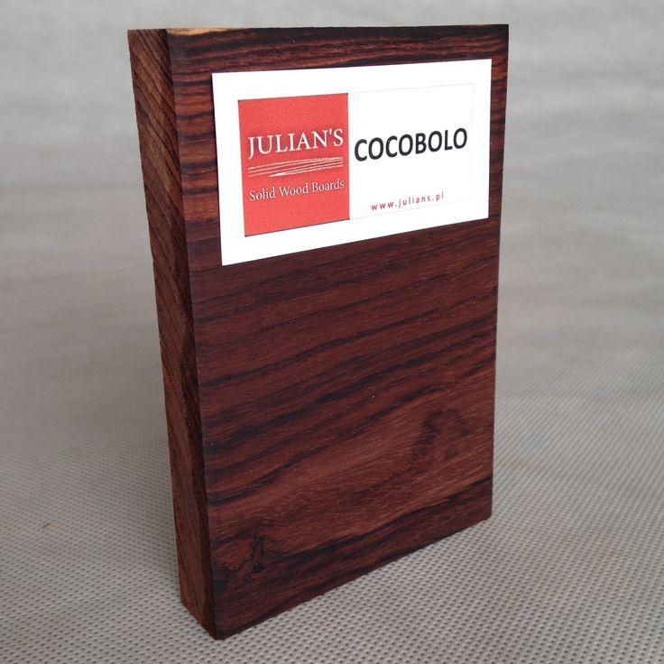 COCOBOLO wood sample