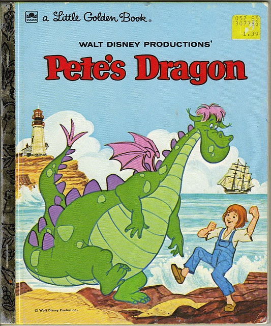 Pete's Dragon Little Golden Book