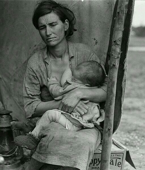 Americans who should never be forgotten.  Great Depression.