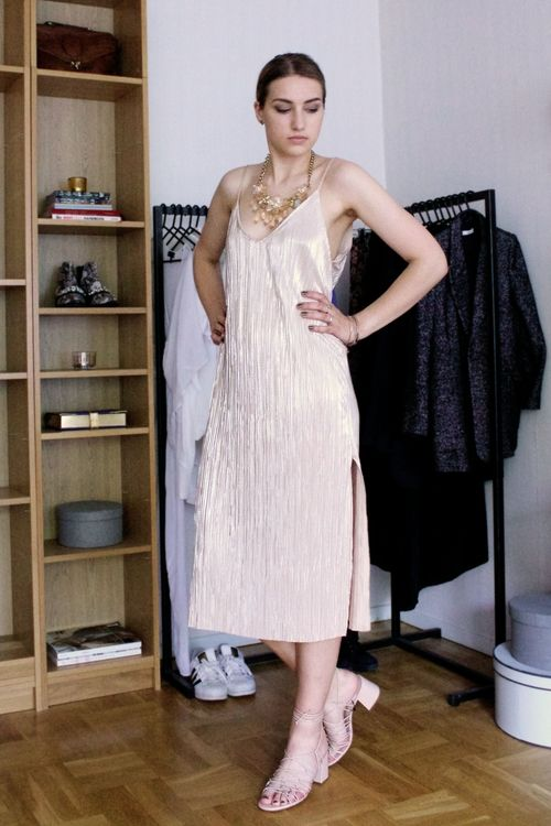 8 ways to wear a slip dress...