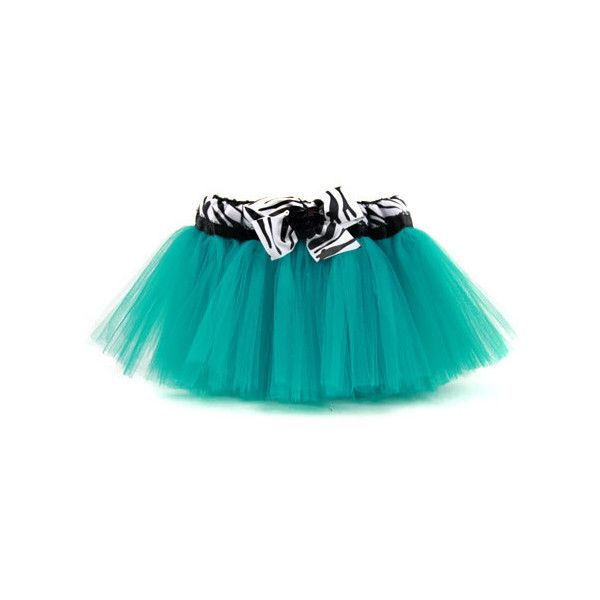 Jade Zebra Tutu ($33) ❤ liked on Polyvore featuring skirts, baby, tutu, baby girl and baby clothes