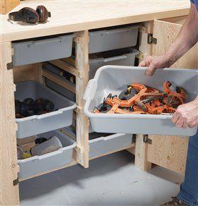 AW Extra - Big Capacity Storage Cabinet - Popular Woodworking Magazine