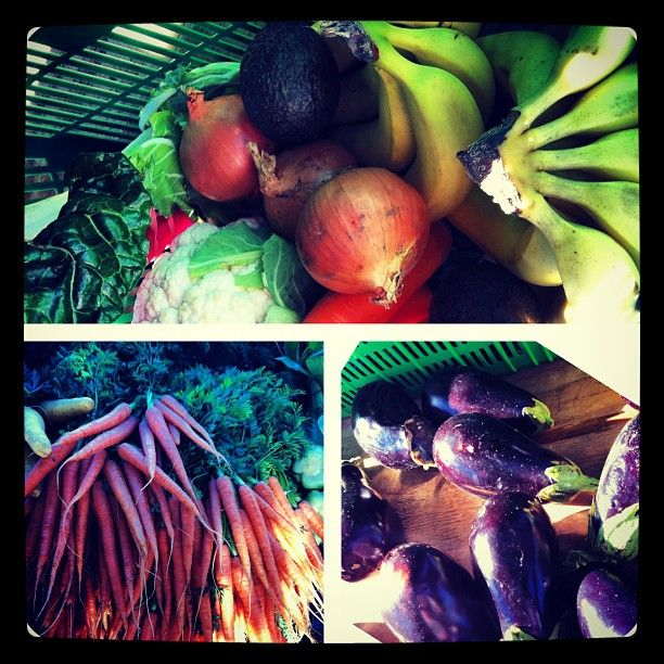 Fresh organic vegs