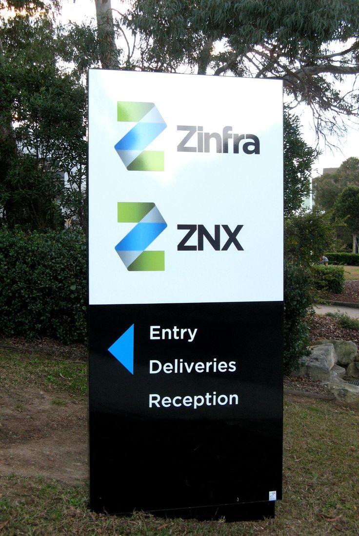 ZINFRA #pylon #signage