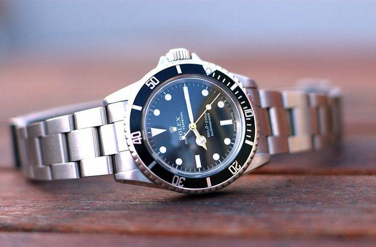 Rolex Submariner No Date Model 5513