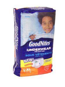 GoodNites Boys Nighttime Training Underpants - L/XL (12ct) -   - http://babyentry.com/baby/potty-training/training-pants/goodnites-boys-nighttime-training-underpants-lxl-12ct-com/