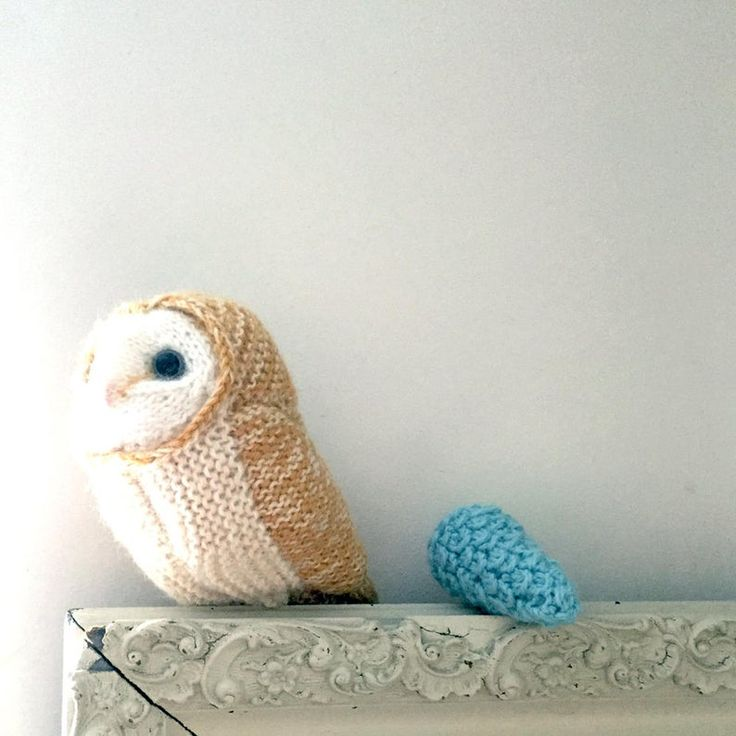 SPECIAL OFFER Knitting Pattern Barn Owl | Etsy in 2020 ...