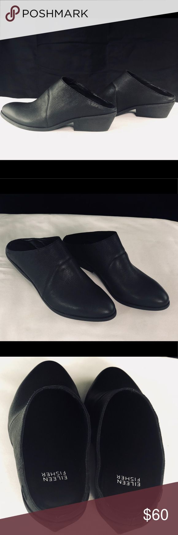 584 Best My Posh Picks Images On Pinterest Distance Long Elaine Navy Top Leux Studio Xs Eileen Fisher Leather Black Clog Booties