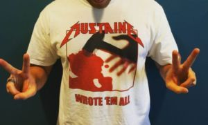 Shirt des Tages: Mustaine - Wrote 'em all - http://www.dravenstales.ch/shirt-des-tages-mustaine-wrote-em-all/