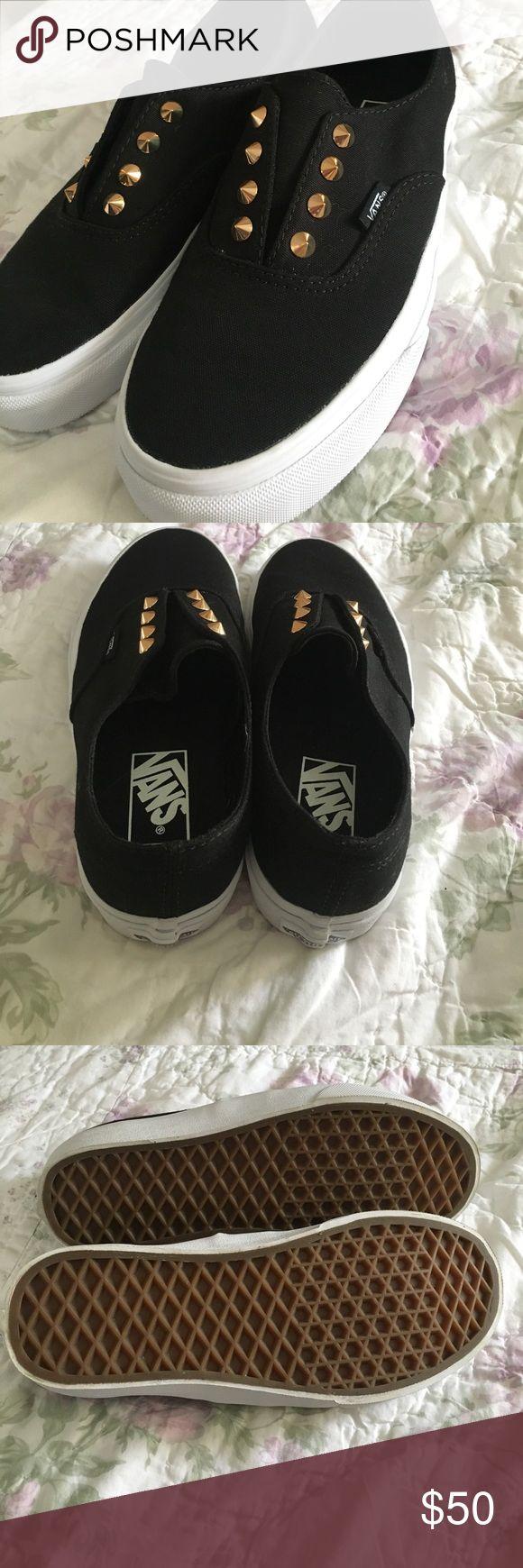 NEVER WORN Studded Vans Vans shoes. NEVER WORN 100%. Vans Shoes Sneakers