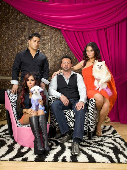 "MTV's ""Snooki and JWoww"" and their puppies"
