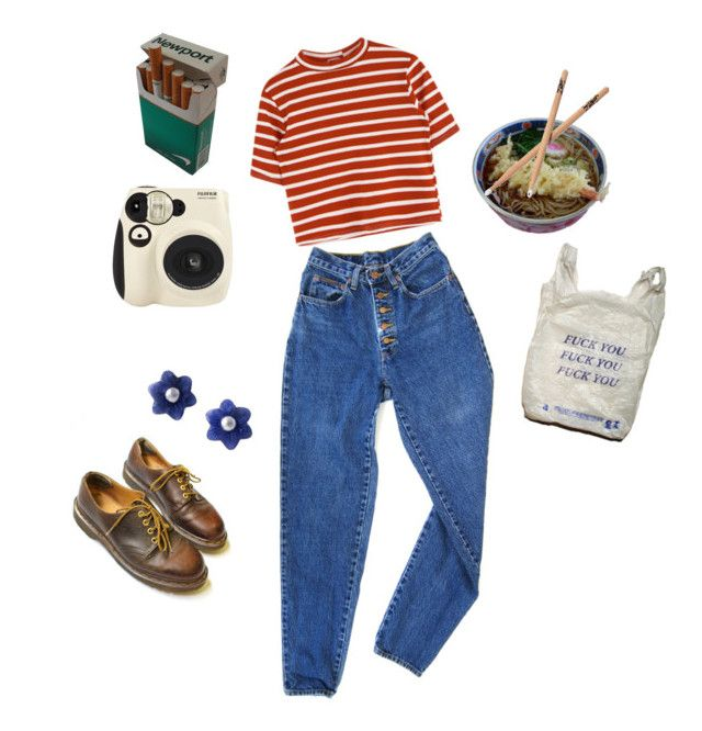"""""""tainted love"""" by paigealexandrialee on Polyvore featuring PèPè, Dr. Martens and NOVICA"""