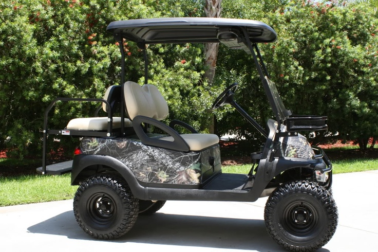 26 Best Images About Golf Carts On Pinterest Hunting Accessories Mossy Oak Camo And Cars