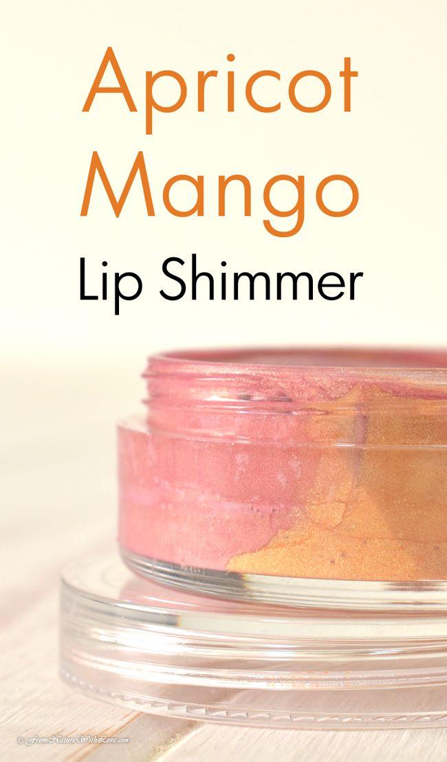 How To Make Apricot Mango Lip Shimmer