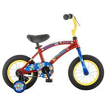 Boys' 12 Inch Paw Patrol Bike Red