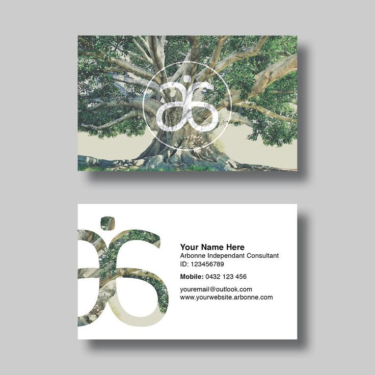 Arbonne Business Card (Life) - Digital Design by BellGraphicDesigns on Etsy…
