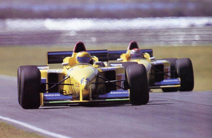 1996 Forti FG01B - Ford (Luca Badoer)