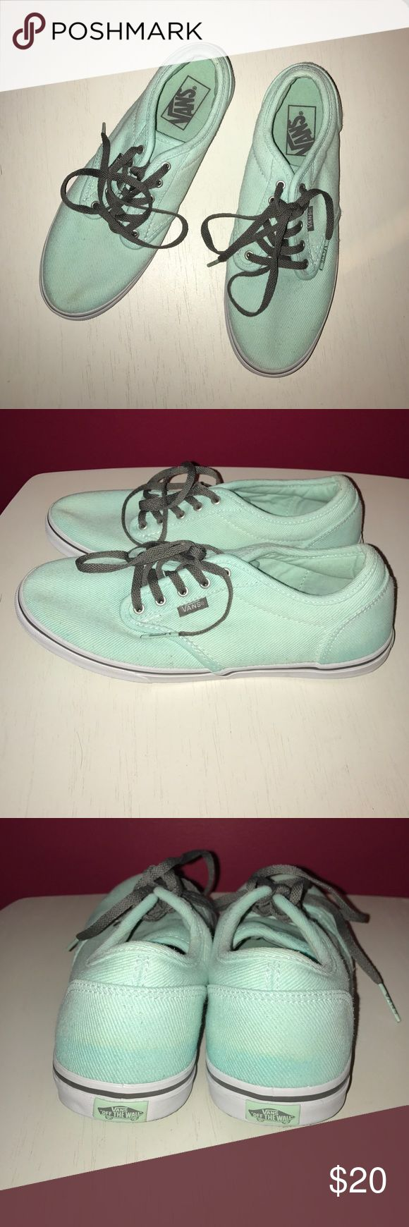VANS Teal sneakers size 8 Teal VANS. Perfect condition - worn once. 100% authentic Vans Shoes Sneakers