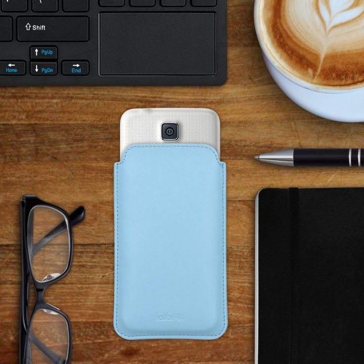 kalibri Leder Tasche Hülle für Samsung Galaxy: Amazon.de: Elektronik