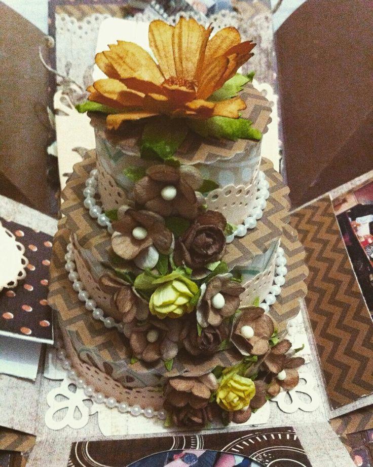 Brown cake