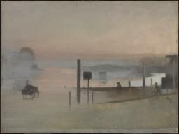 Victor Pasmore 'The Quiet River: The Thames at Chiswick', 1943–4 © Tate
