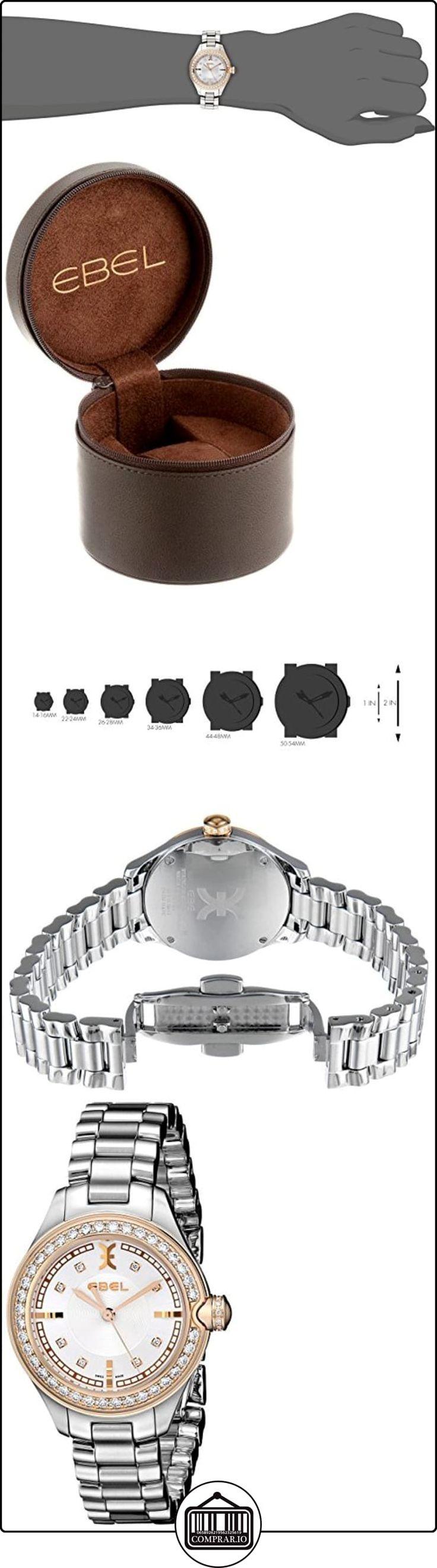 Ebel 1216097Observatorio Nacional de la mujer cuarzo analógico Swiss Plateado Reloj  ✿ Relojes para mujer - (Lujo) ✿