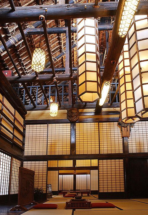Beautiful traditional architecture.  Visit japan-marche.com to find traditional and designed, quality Japanese items for your home and interior.