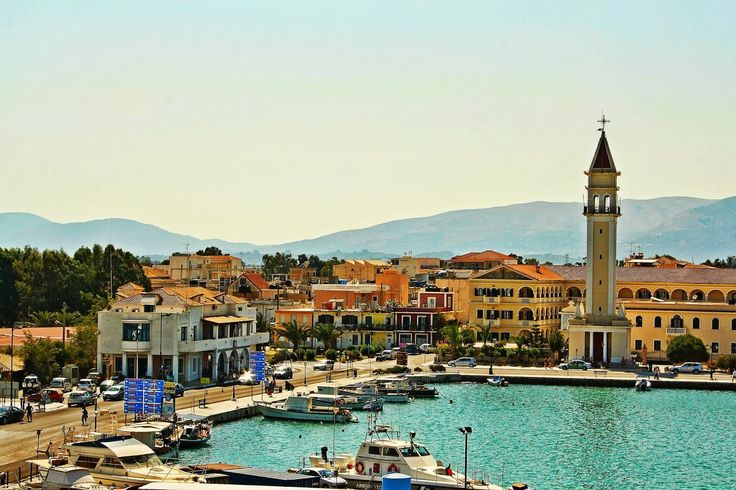 The beautiful town of #Zante! #IonianIsland