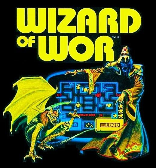 "Wizard of Wor - Play ""Wizard of Wor"" arcade game online. ( bally, arcade, retro, midway, pixel, classic, Maze, labyrinth, Worluks, Bally Midway machines, 80s, icon, best arcades games )."