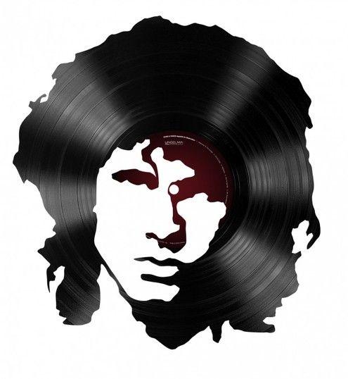 Jim Morrison record art