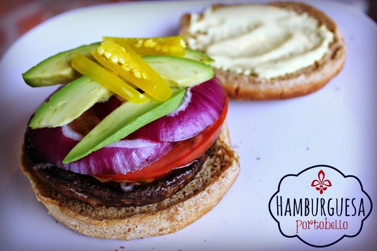 Lunes Sin Carne: Hamburguesas Portobello
