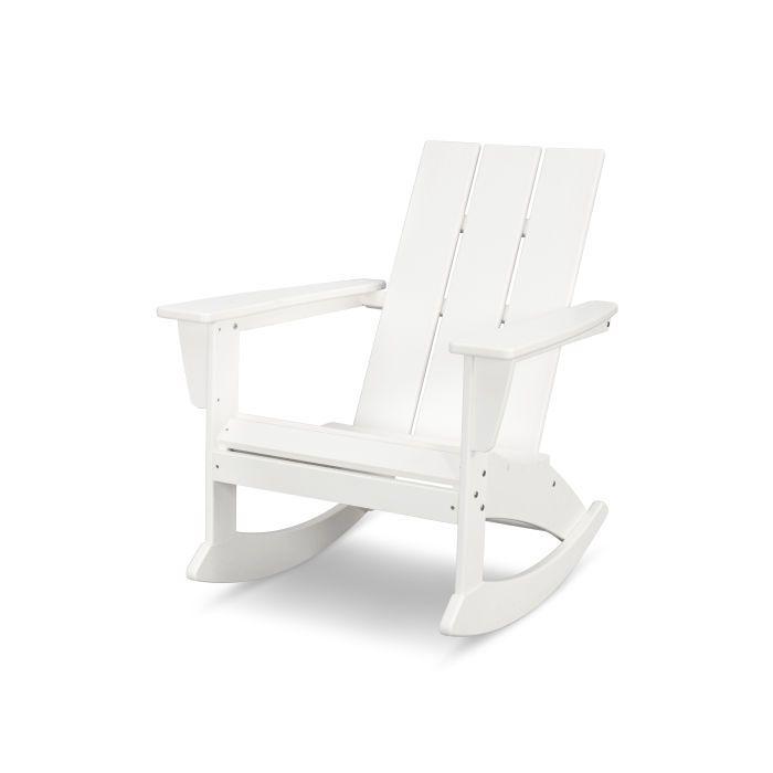 Modern Adirondack Rocking Chair In Vintage Finish In 2020