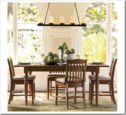 17 best images about kitchen light fixtures on pinterest allen roth dining room lighting and - Dining room table chandeliers ...