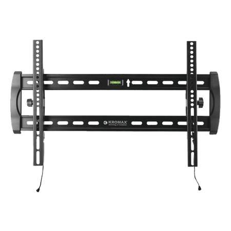 Kromax STAR-40  — 2540 руб. —  Надежный рамный кронштейн для плазмы, прекрасно подойдет для панелей от 32 до 65 дюйма. В крепежной раме предусмотрен водяной уровень для более точной установки. Телевизор на кронштейне будет установлен максимально близко к стене 67 мм. Max VESA 600*400. Инновационная система фиксации - фиксирующий замок TechLock.