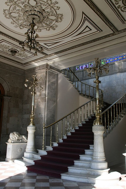 interior, Castillo de Chapultepec, Mexico City.  Photo: mono479