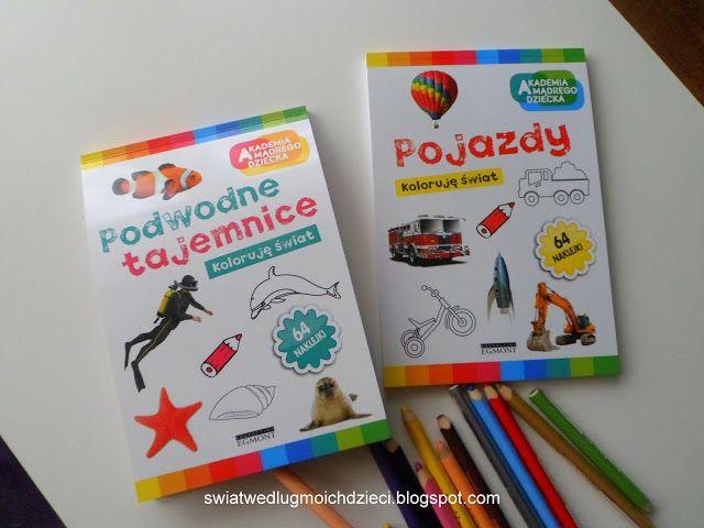 świat według moich dzieci: Akademia mądrego dziecka, kolorowanki.