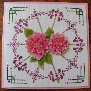 Bloemen kaartje