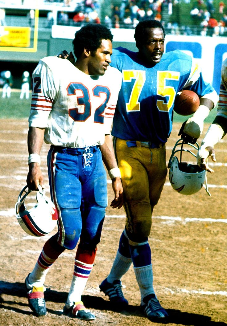 O.J. Simpson & Deacon Jones