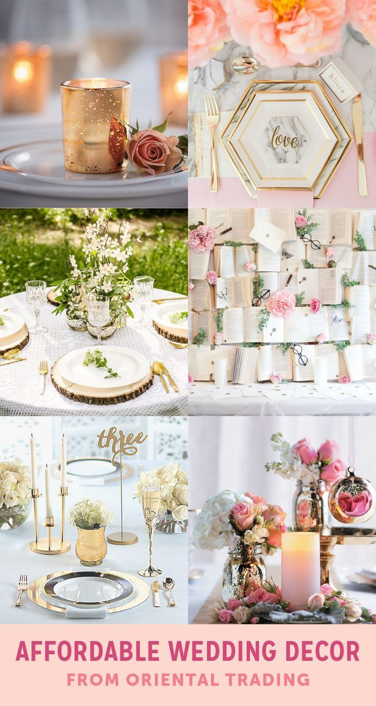 Affordable Wedding Decor From Marry Me By Otc Wedding Decor Weddingdecorations Weddings Weddinginspiration Weddingideas Weddin Cheap Wedding Decorations