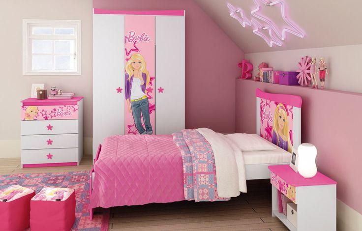 Decoração De Quarto Infantil Da Barbie - Dicas E Fotos