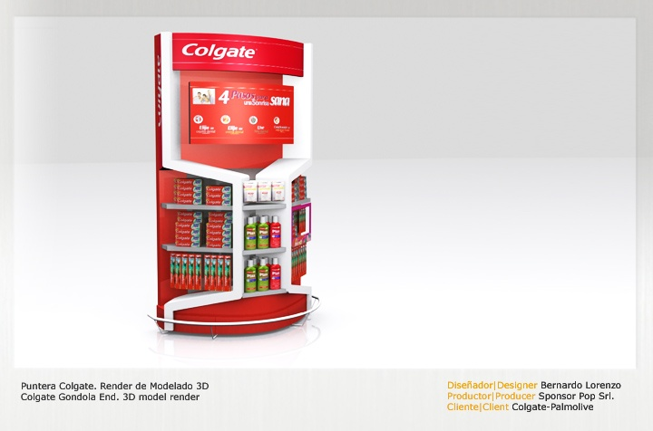 Retail Point of Purchase Design | POP Design | Health & Beauty POP Display | by sharkskindesign