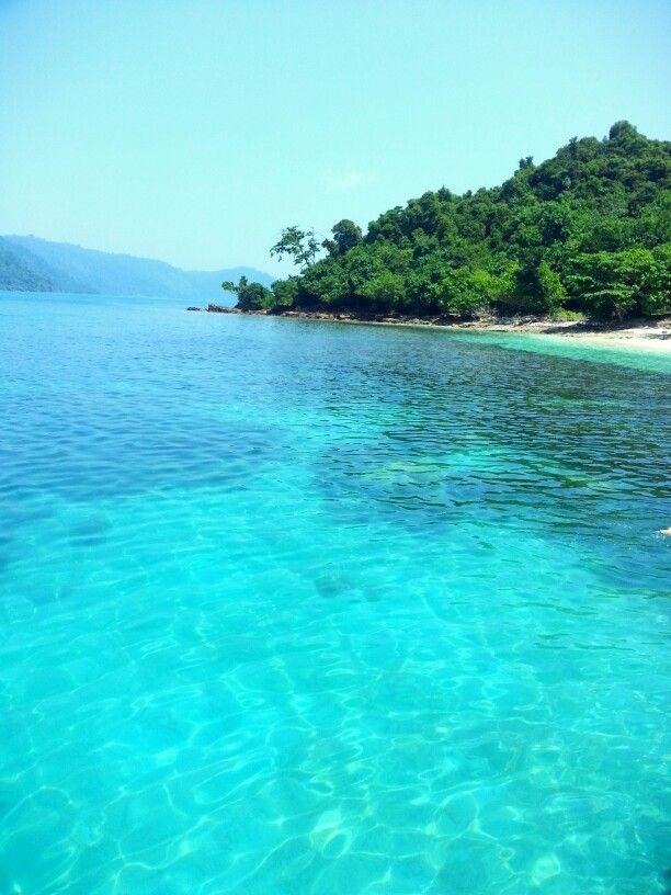 Legundi island, south lampung. Indonesia
